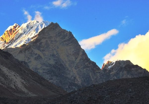 Chulu east Peak climbing /nepal peak