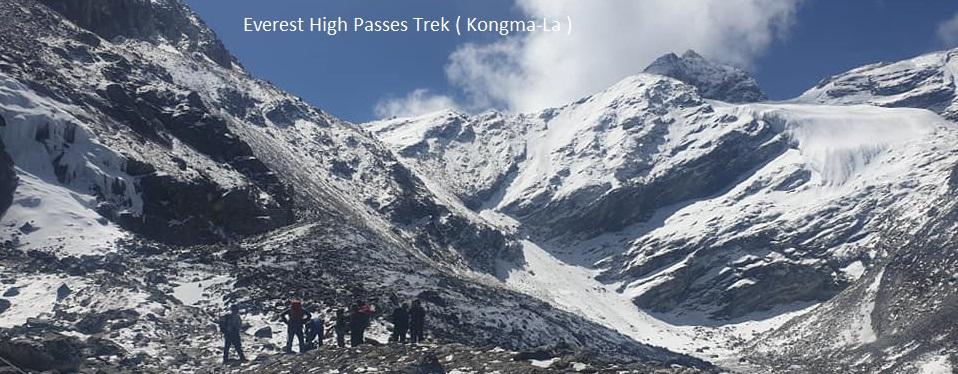Everest High Pass Trekking in Nepal