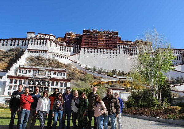 Tibet Overland Tour with potala palace