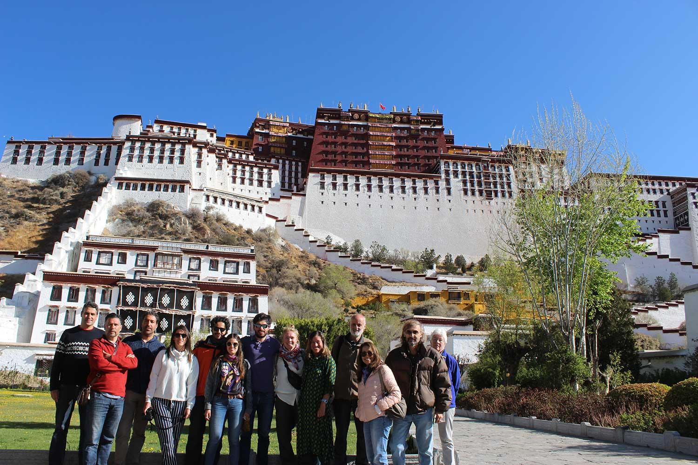 Tibet Overland Tour with potala palace