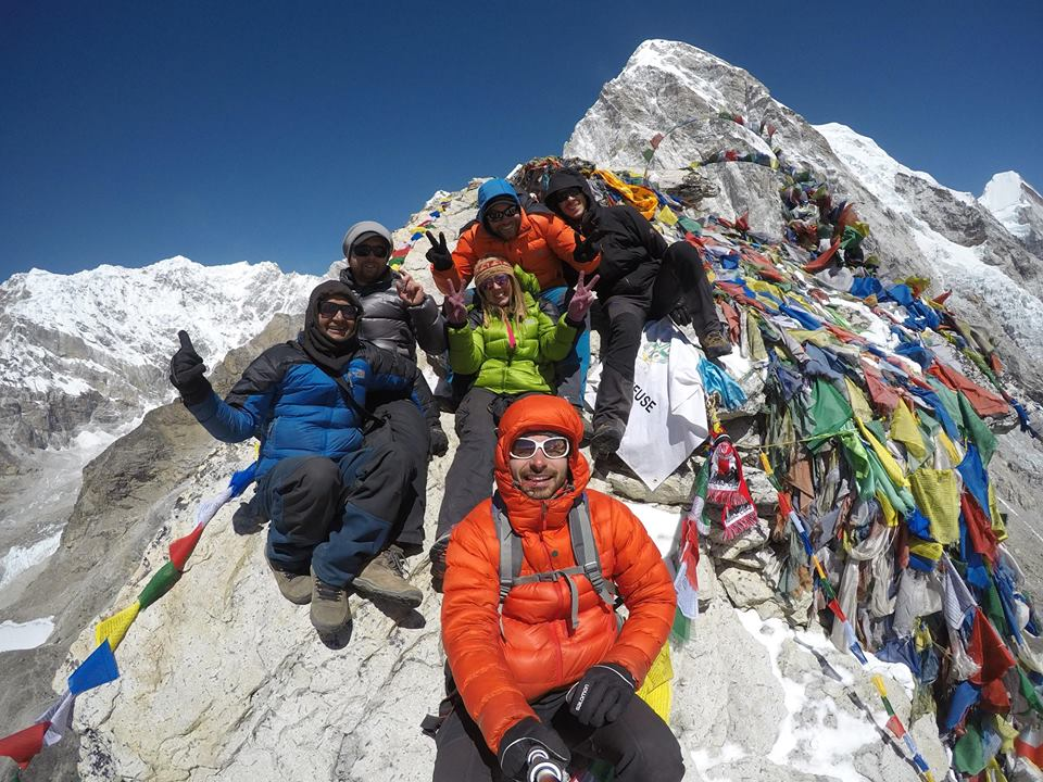 Everest Base Camp Trek group photo