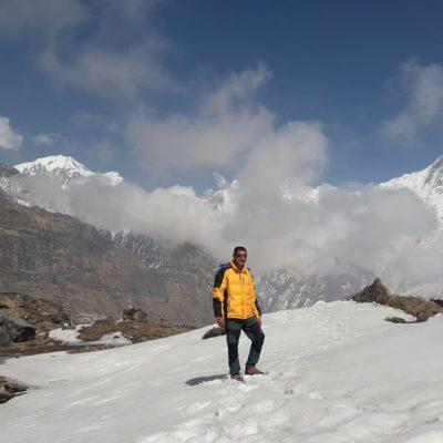 hiking adventure treks climbing guide kumar khadka