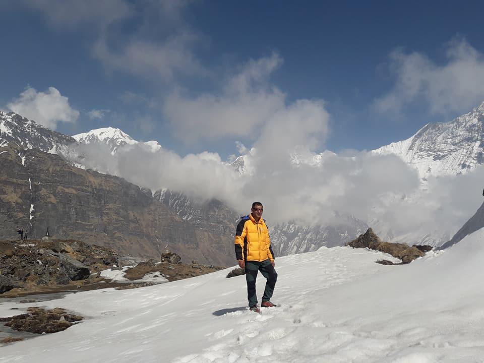 Kumar Khadka – Climbing  Guide
