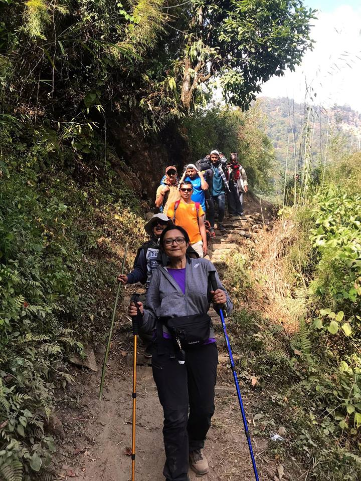 Dhampus Sarangkot Hiking