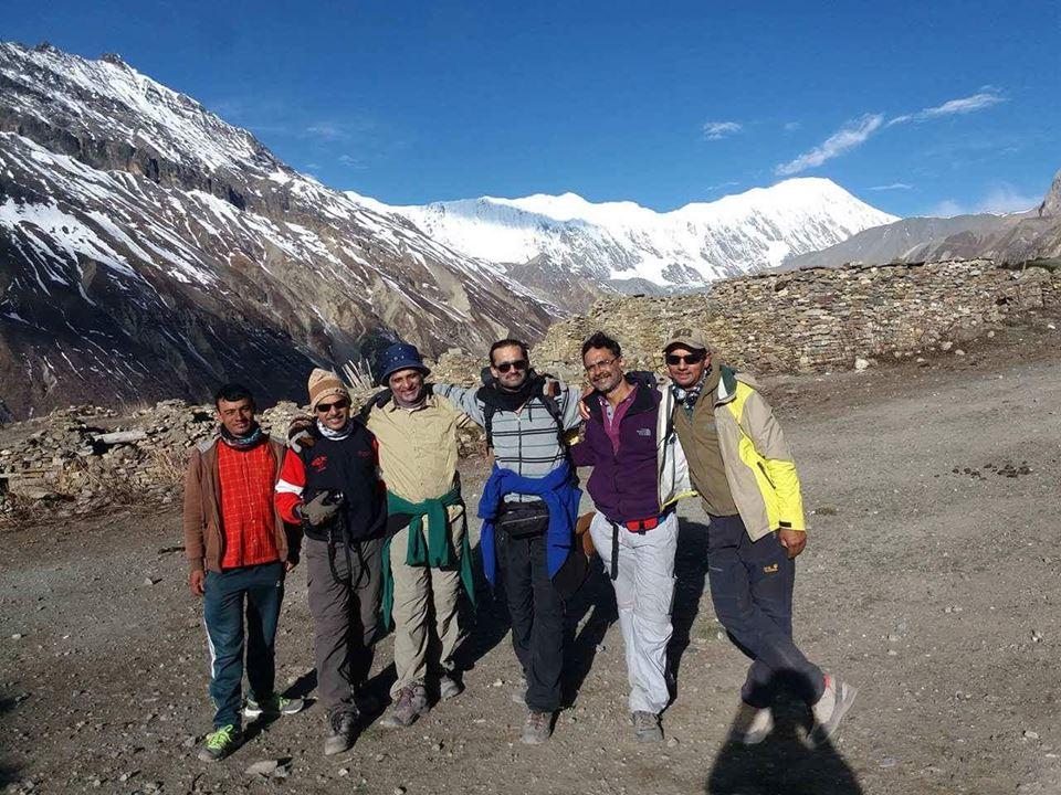 trekkers-posing-at-annapurna-base-camp