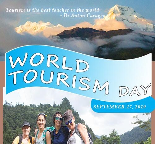 Celebrating World Tourism Day 2019 in September
