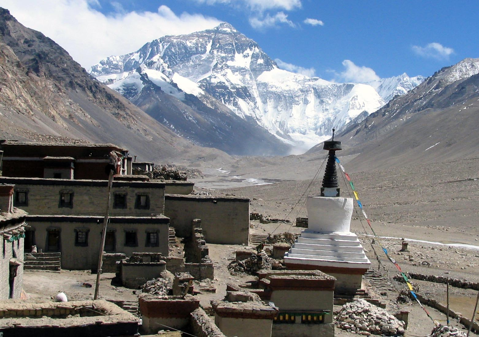 Lhasa to the Everest Base Group Camp