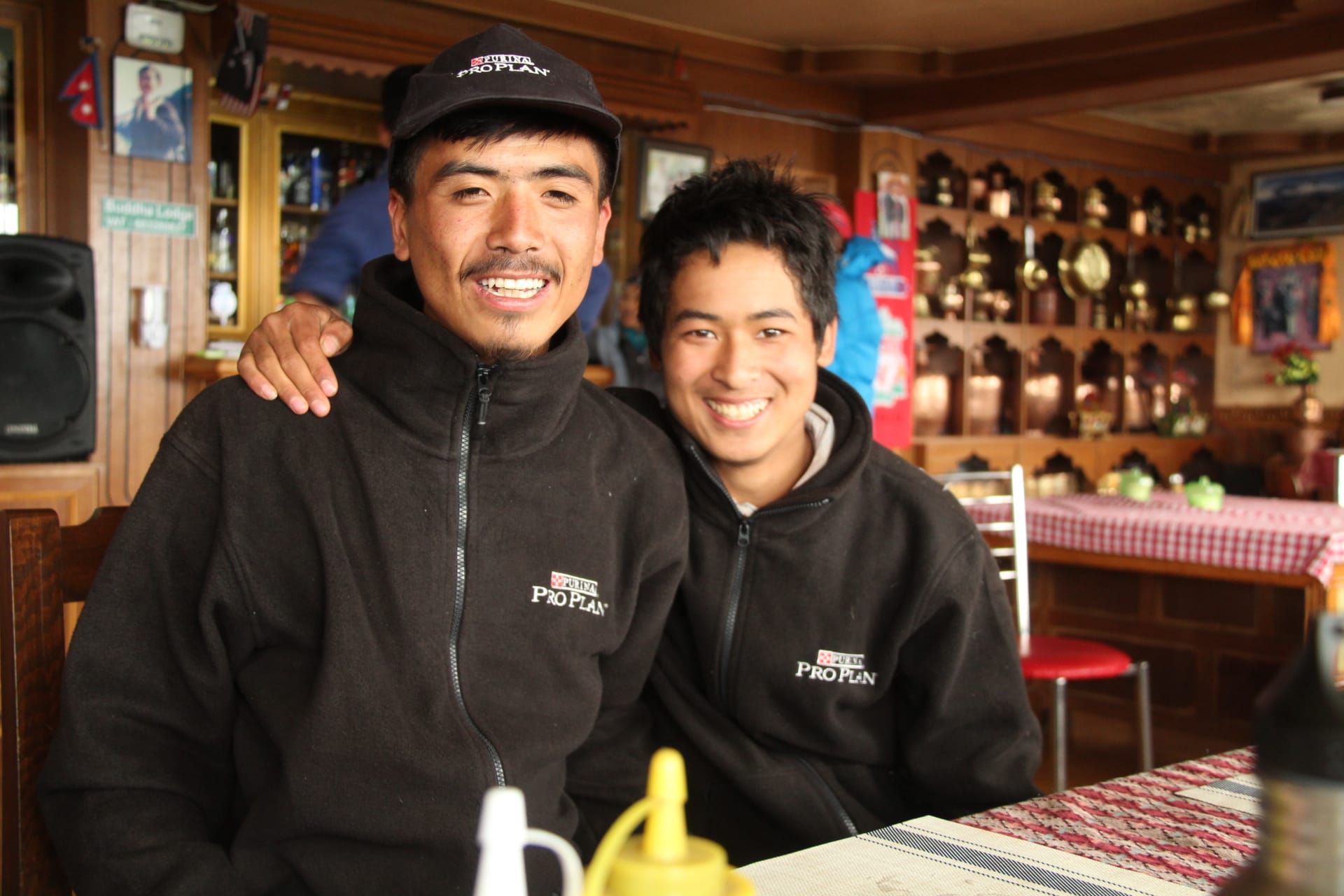 Why hire a trekking guide in Nepal? Our guide Bishnu with his friend