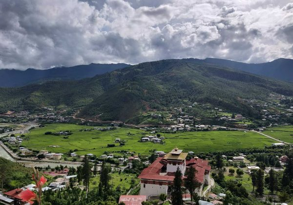 Nepal and Bhutan Tour; Paro view