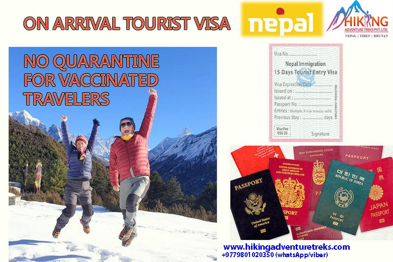 Nepal resumes on arrival tourist visa